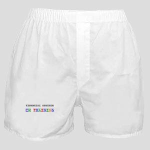 Financial Adviser In Training Boxer Shorts