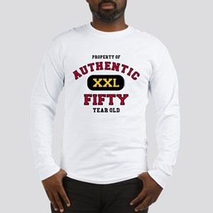 Authentic Fifty Long Sleeve T-Shirt