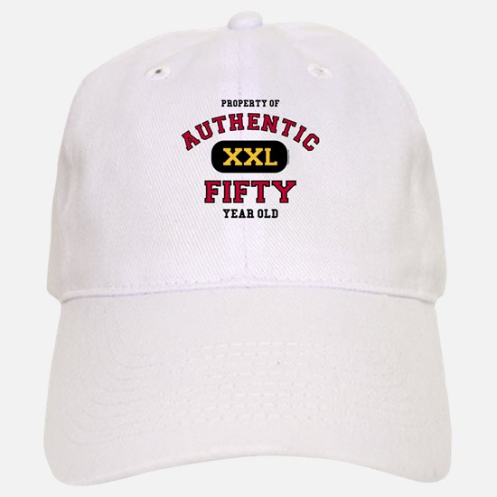 Authentic Fifty Baseball Baseball Cap