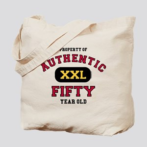 Authentic Fifty Tote Bag