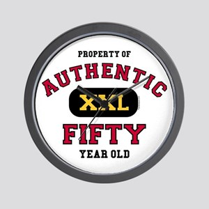 Authentic Fifty Wall Clock
