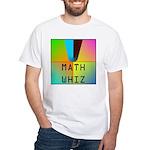 Math whiz White T-Shirt