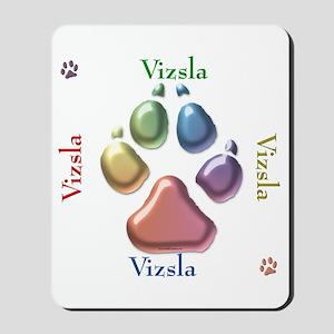 Vizsla Name2 Mousepad