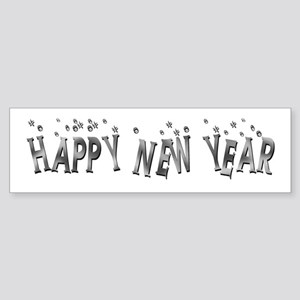 Happy New Year Sticker (Bumper)