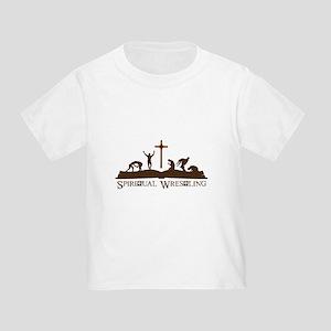 Spiritual Wrestling Toddler T-Shirt