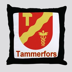 The Tammerfors Store Throw Pillow