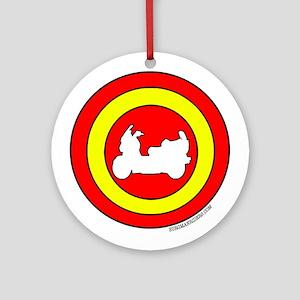 Burgman Retro Ornament (Round)