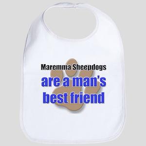Maremma Sheepdogs man's best friend Bib