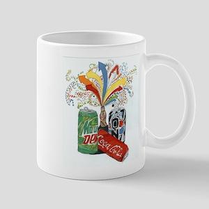 Rainbow man Mug