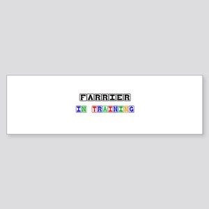 Farrier In Training Bumper Sticker