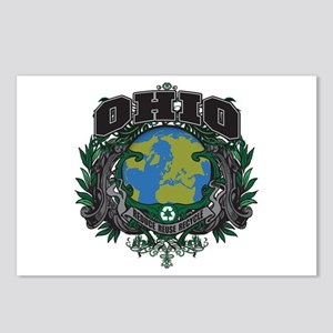 Ohio Green Pride Postcards (Package of 8)