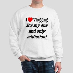 Addicted to Vlogging Sweatshirt