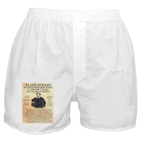 John Wilkes Booth Boxer Shorts