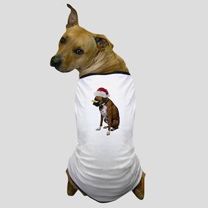 Santa Boxer Christmas Dog T-Shirt