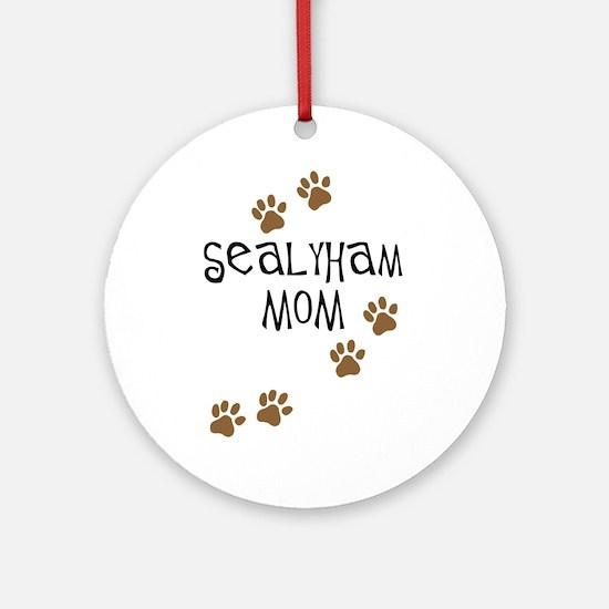 Sealyham Mom Ornament (Round)