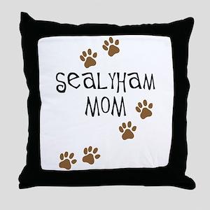 Sealyham Mom Throw Pillow