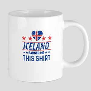 iceland earned me tees Mugs