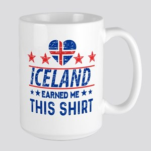 iceland earned me tees Mugs
