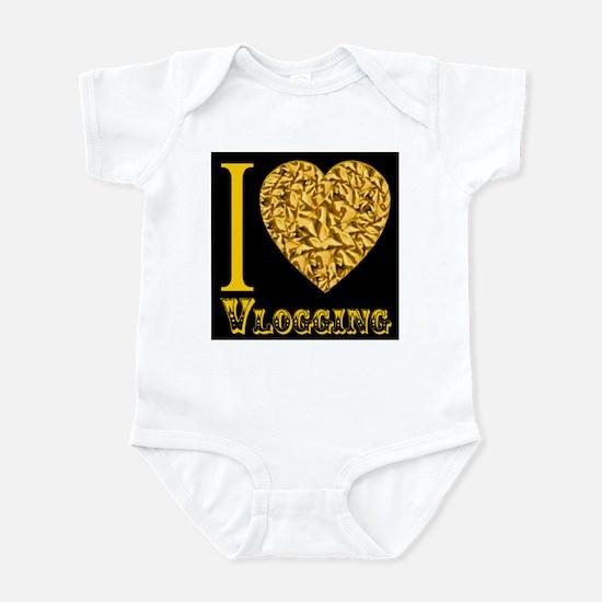 I love Vlogging Infant Bodysuit