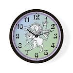 Fierce Unicorn Wall Clock