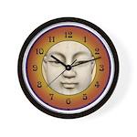 Buddha Face Wall Clock