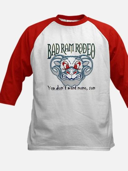 """""""BAD RAM RODEO"""" Kids Baseball Jersey"""