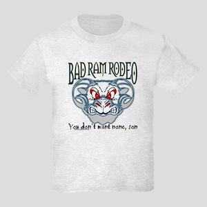 """""""BAD RAM RODEO"""" Kids Light T-Shirt"""