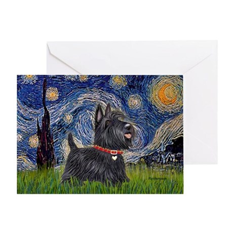 Starry - Scotty (#15) Greeting Card