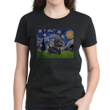 Starry - Scotty (#15) Women's Dark T-Shirt