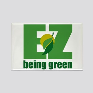 EZ Being Green Rectangle Magnet
