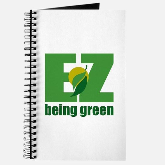 EZ Being Green Journal