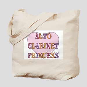 Alto Clarinet Princess Tote Bag