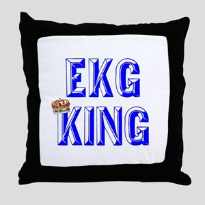 EKG Tech Throw Pillow