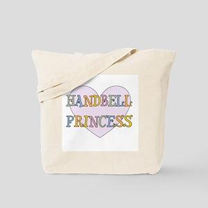 Handbells Princess Tote Bag