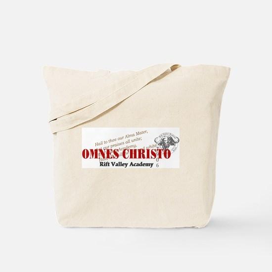 RV Omnus Christo Tote Bag