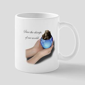 Save The Chimps Mug