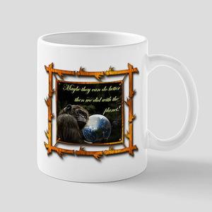 Chimp Planet Mug