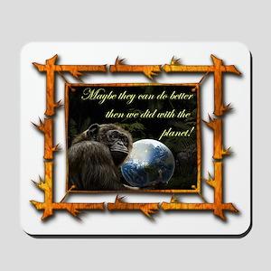Chimp Planet Mousepad