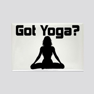 Got Yoga Rectangle Magnet