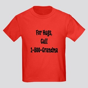 Grandma Hugs Kids Dark T-Shirt