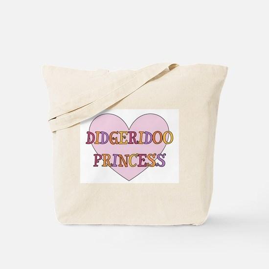 Didgeridoo Princess Tote Bag