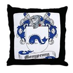 Monypenny Family Crest Throw Pillow