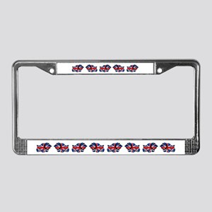 British Bulldog License Plate Frame
