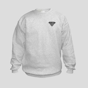 SuperReader(metal) Kids Sweatshirt