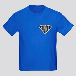SuperReader(metal) Kids Dark T-Shirt