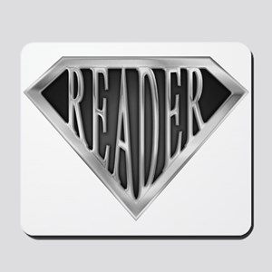 SuperReader(metal) Mousepad