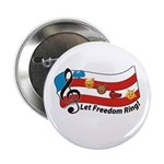 """Let Freedom Ring! 2.25"""" Button (10 Pack)"""