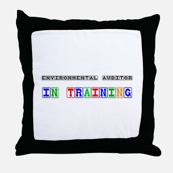 Environmental Auditor In Training Throw Pillow