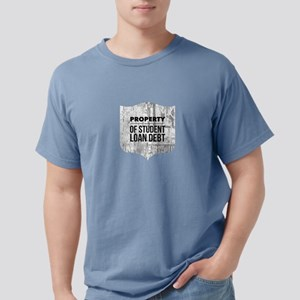 Property of Student Loan Debt Badge T-Shirt
