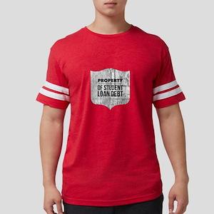 Property of Student Loan Debt Badge T-Shirt
